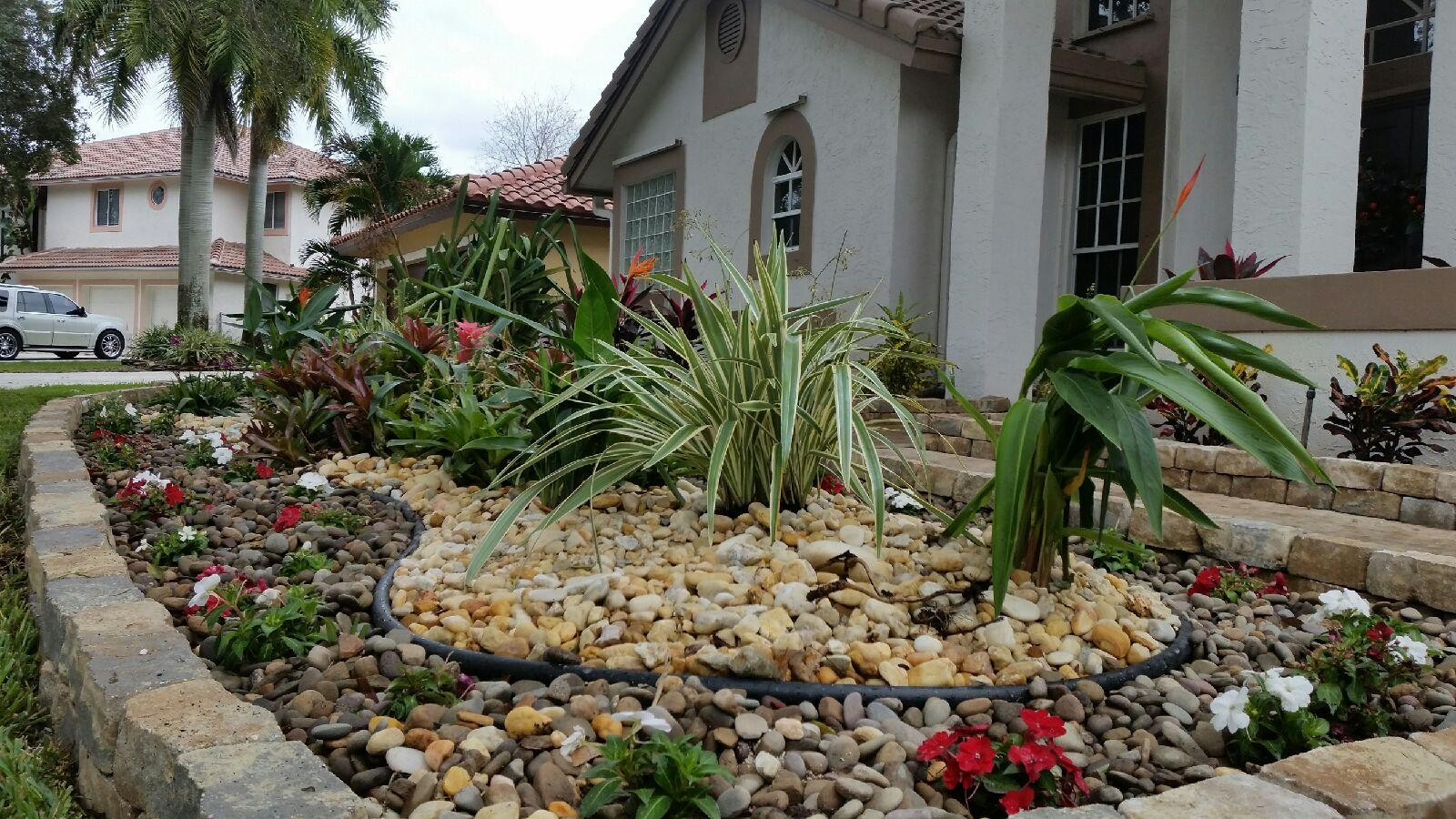 Before And After Landscaping In Coral Springs