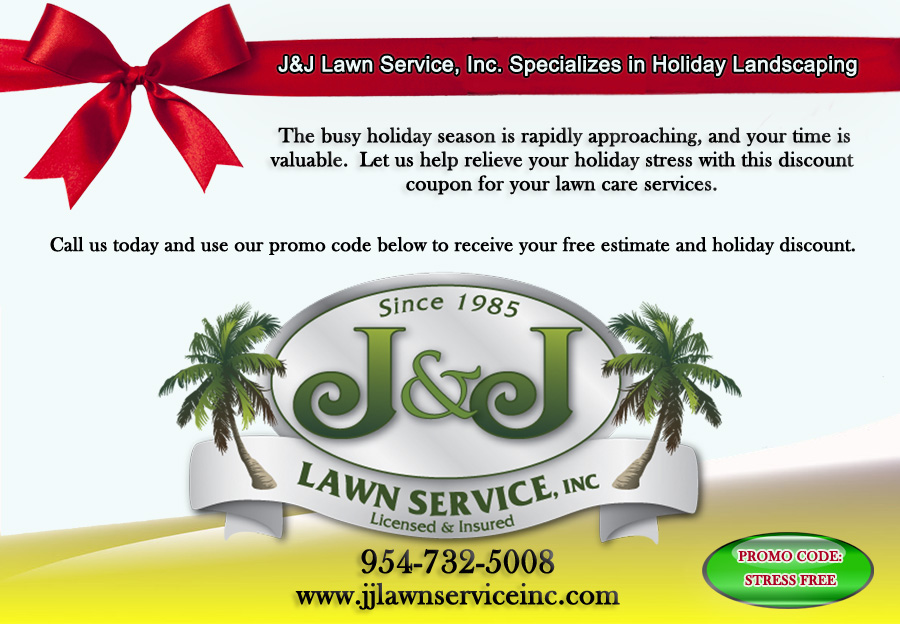 Holiday Landscaping